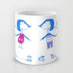 Emma and Luvi mug