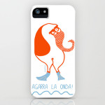 agarra la onda phone case