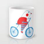 bici bird mug