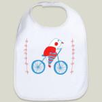 bici bird baby bib