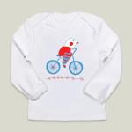 bici bird infant tee