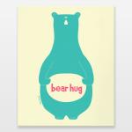 bear hug canvas