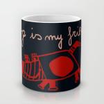 dog is my friend mug