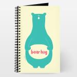 bear hug notebook