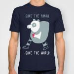 cuore di panda tee
