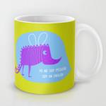 pequeño dragón mug