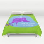 pequeño dragon duvet covers
