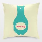 bear hug pillow