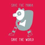 cuore di panda poster
