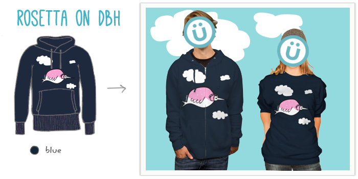 Rosetta hoodies